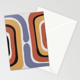 Reverse Shapes II Stationery Cards