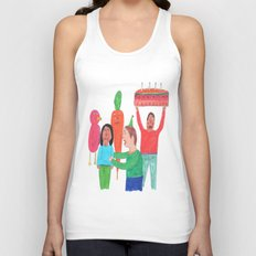 Happy Birthday! Unisex Tank Top
