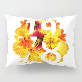 Flower 1978 Pillow Sham