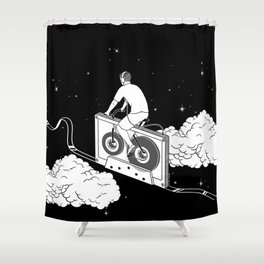 Slow Ride Shower Curtain
