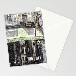 Paris - Restaurant Stationery Cards