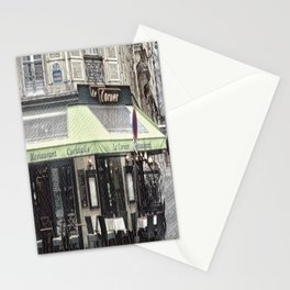 Paris - Restaurant Stationery Cards