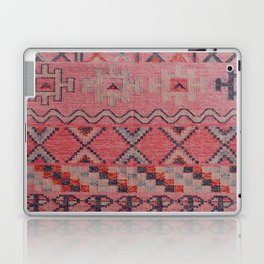 V21 New Traditional Moroccan Design Carpet Mock up. Laptop & iPad Skin