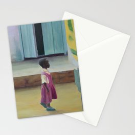 African Girl Stationery Cards