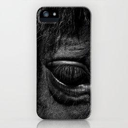 Black eye iPhone Case