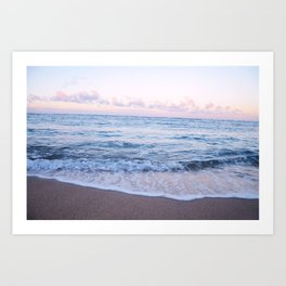 Ocean Morning Art Print