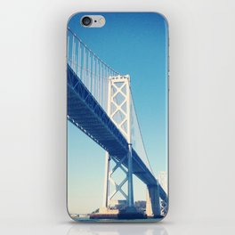 south side, bay bridge iPhone Skin