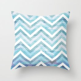Into The Blue 1 Throw Pillow
