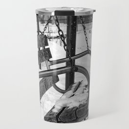 Snow Covered Swing Travel Mug