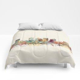 phoenix arizona skyline Comforters