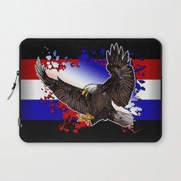 Bald Eagle - Red, White & Blue Laptop Sleeve