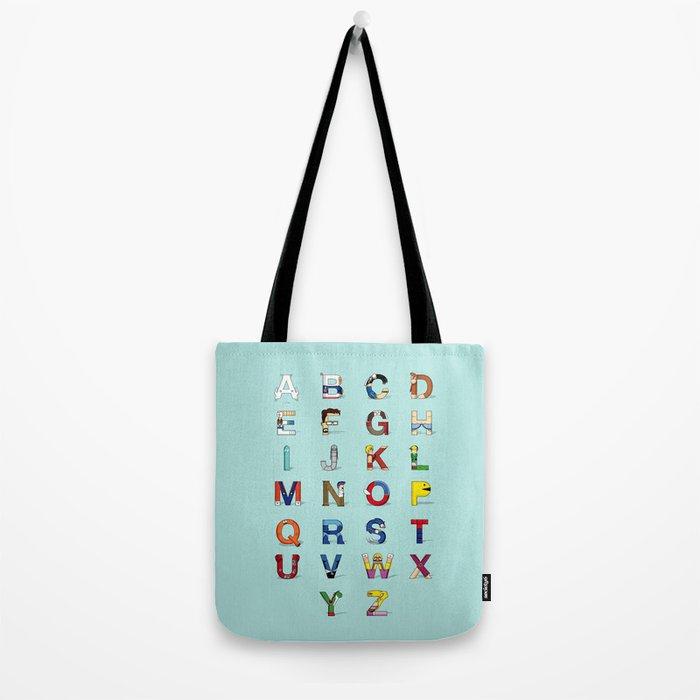 VGC alphabet Tote Bag