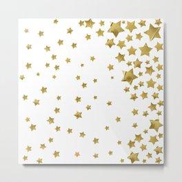 Starry Magic - White Metal Print