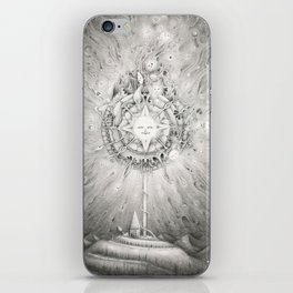 Moonlight Dream Caster iPhone Skin