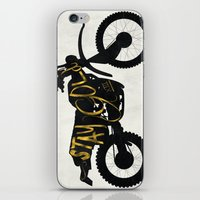 stay gold iPhone & iPod Skins featuring Stay Gold by Ride The Storm
