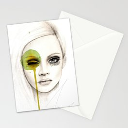 Fused - Fashion Illustration by Leigh Viner Stationery Cards
