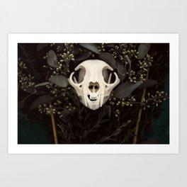 Skull and Bone Art Print