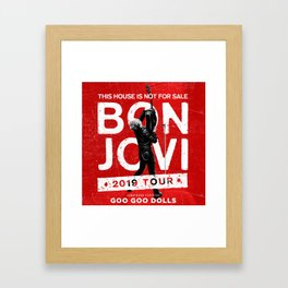 Bon Jovi Framed Art Prints Society6
