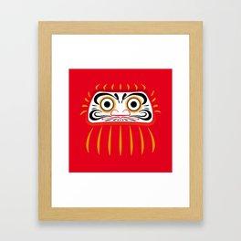 Japan Serie 1 - DARUMA Framed Art Print