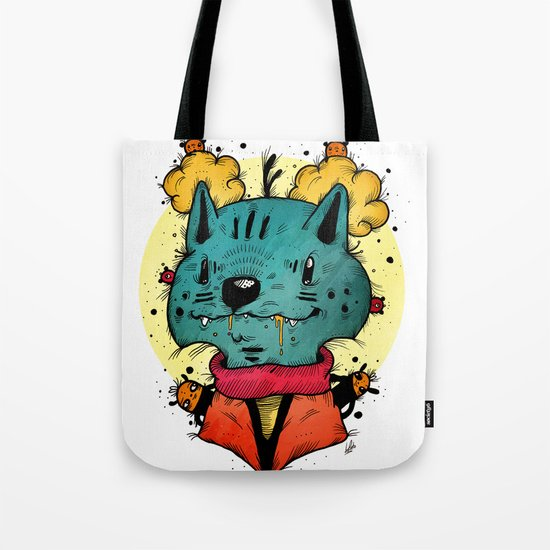 Wolfy (Color Version) Tote Bag