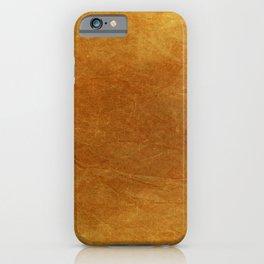 Autumn Orange iPhone Case