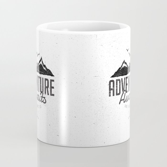 ADVENTURE AWAITS Coffee Mug