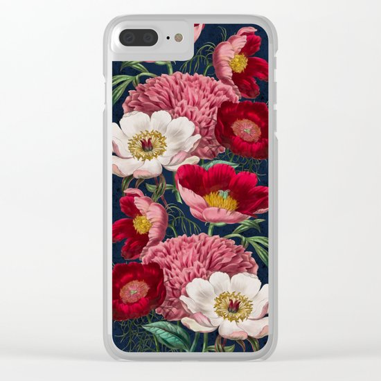 Flower garden III Clear iPhone Case