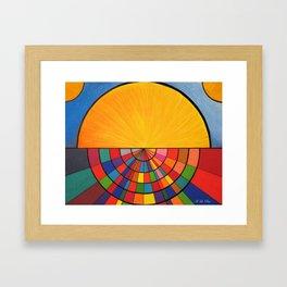 Dawn In a Digital Age Framed Art Print