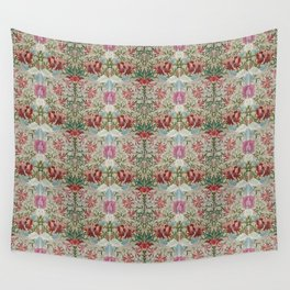 Victorian Embroidery Wall Tapestry