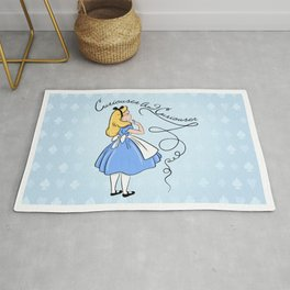 Curiouser And Curiouser Says Alice Rug