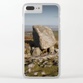 Arthur's stone burial tomb Clear iPhone Case