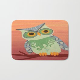 Owl All About It Bath Mat