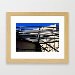 E V - Metal On Metal Framed Art Print
