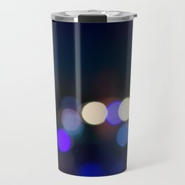 Blue Lights Travel Mug