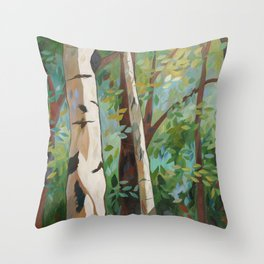 Discover Peace Throw Pillow