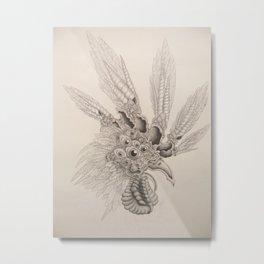 Cockeyed Metal Print