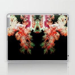 Neon Mirrored Trees 15 Laptop & iPad Skin