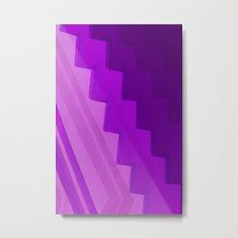 Pantone Purple Metal Print