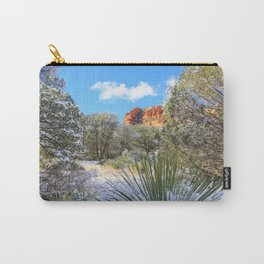 Sedona Winter  by Reay of Light Carry-All Pouch