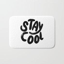 Stay Cool Vintage B&W Bath Mat