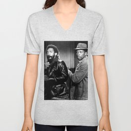 Sidney Poitier KBE - Bahamian-American Actor Film Director Shop Society6 Online BLM COSBY Unisex V-Neck
