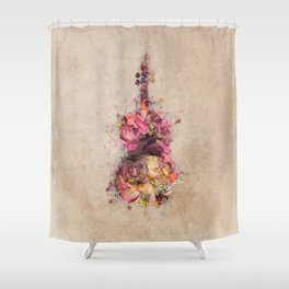 Double bass Shower Curtain