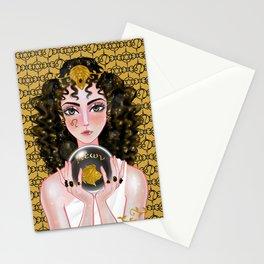 Leo Onyx Stationery Cards