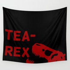 Tea-Rex Wall Tapestry