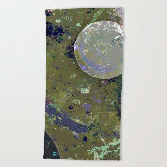 Dust 04 - Post Biological Universe Beach Towel