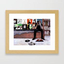 Interfere Framed Art Print
