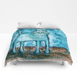 A bit tensed Comforters