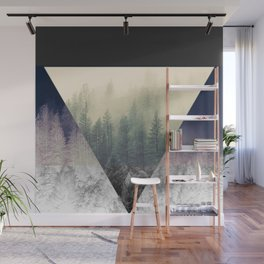 Inverted Forest Wall Mural
