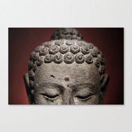 Red Meditation Canvas Print