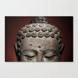 Red Meditation Canvas Print